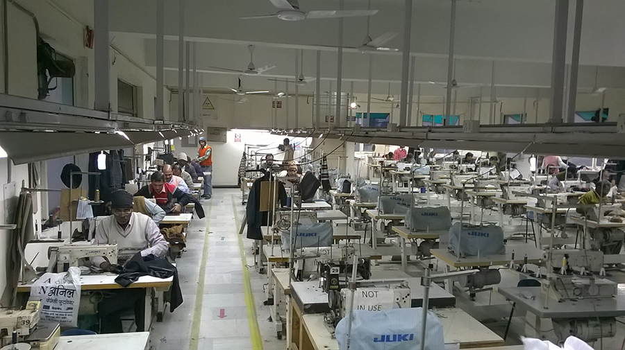 stitching department